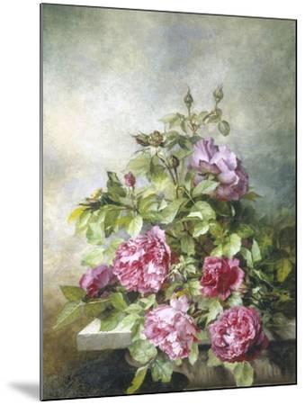 Romantic Roses-Claude Massman-Mounted Giclee Print
