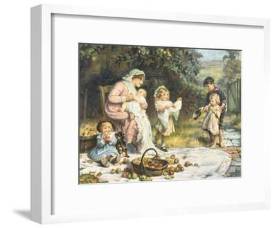 Enough and More to Spare-Frederick Morgan-Framed Giclee Print