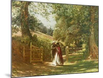 The Lovers' Tryst-Richard Redgrave-Mounted Giclee Print