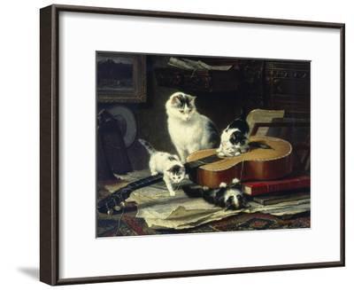 The Musical Cats-Henriette Ronner-Knip-Framed Giclee Print
