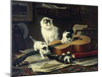 The Musical Cats-Henriette Ronner-Knip-Mounted Giclee Print
