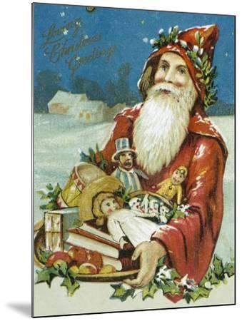 Loving Christmas Greetings--Mounted Giclee Print