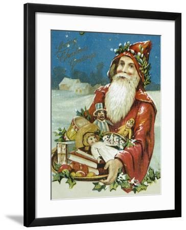 Loving Christmas Greetings--Framed Giclee Print