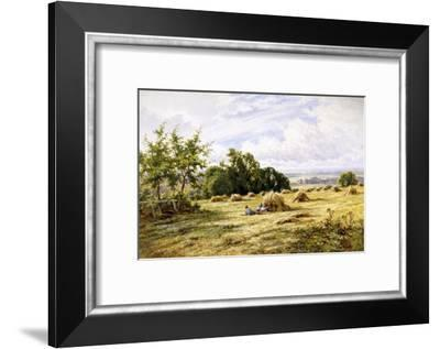 Hampshire Cornfield-Henry Parker-Framed Giclee Print