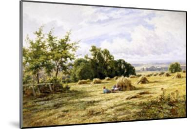 Hampshire Cornfield-Henry Parker-Mounted Giclee Print