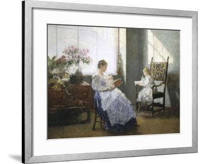 Golden Hours-Hans Tichy-Framed Giclee Print
