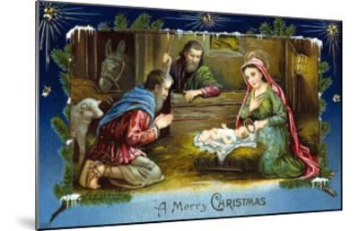 The Nativity--Mounted Giclee Print