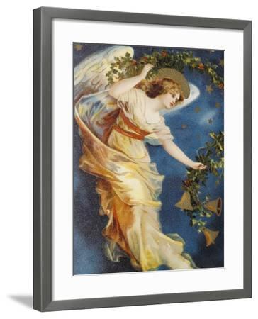 Christmas Bells--Framed Giclee Print
