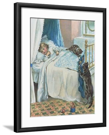Christmas Morning--Framed Giclee Print