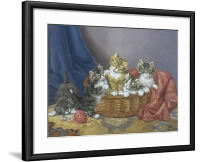 Basket of Mischief-Daniel Merlin-Framed Giclee Print