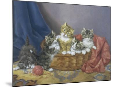 Basket of Mischief-Daniel Merlin-Mounted Giclee Print