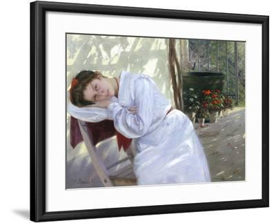 Faraway Thoughts-Carl Pippich-Framed Giclee Print