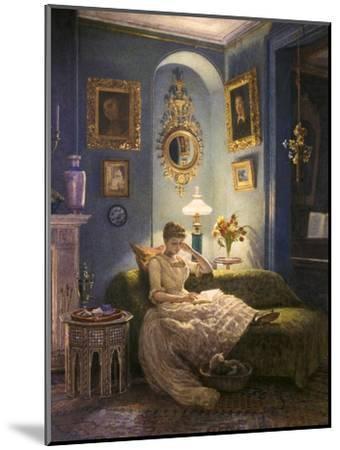 Evening at Home-Edward John Poynter-Mounted Giclee Print