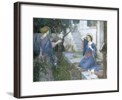 The Annunciation, c.1914-John William Waterhouse-Framed Giclee Print