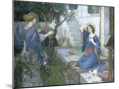 The Annunciation, c.1914-John William Waterhouse-Mounted Giclee Print