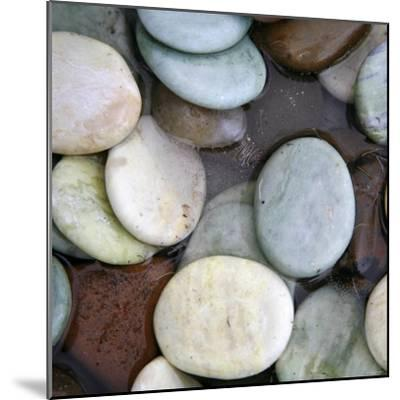 Stone Serenity I-Nicole Katano-Mounted Photo