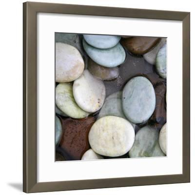 Stone Serenity I-Nicole Katano-Framed Photo
