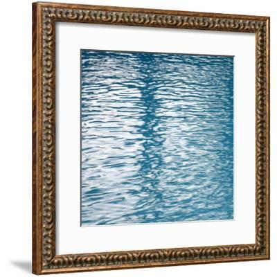 Azure Reflect-Nicole Katano-Framed Photo