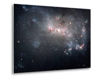 Magellanic Dwarf Irregular Galaxy NGC 4449 in the Constellation Canes Venatici-Stocktrek Images-Metal Print