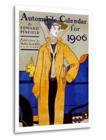 Cover for Automobile Calendar of 1906-Edward Penfield-Metal Print