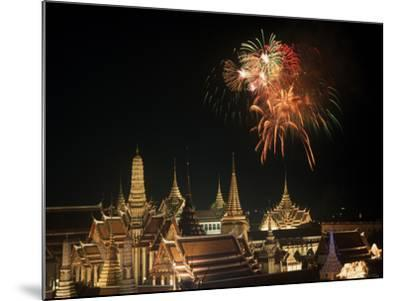 Emerald Palace During Commemoration of King Bumiphol's 50th Anniversary, Thailand-Russell Gordon-Mounted Photographic Print