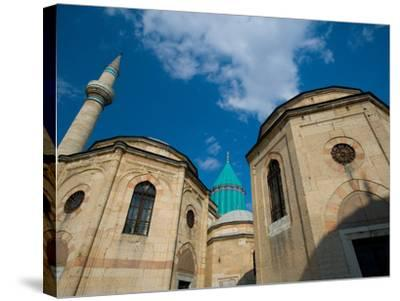 Home to the Whirling Dervish, Mevlana Museum, Konya, Turkey-Darrell Gulin-Stretched Canvas Print