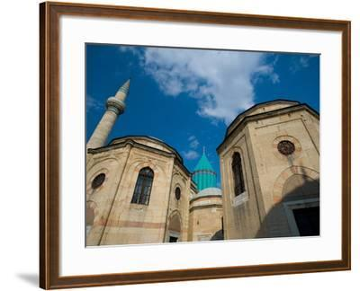 Home to the Whirling Dervish, Mevlana Museum, Konya, Turkey-Darrell Gulin-Framed Photographic Print