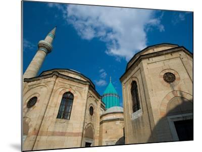 Home to the Whirling Dervish, Mevlana Museum, Konya, Turkey-Darrell Gulin-Mounted Photographic Print