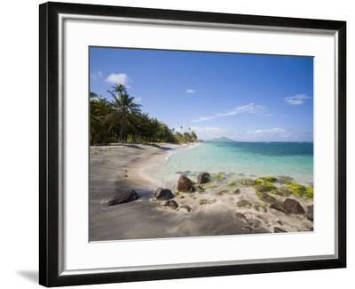 Nisbett Plantation Beach, Nevis, Caribbean-Greg Johnston-Framed Photographic Print