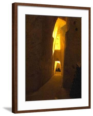 Wine Cellar, Old Chalk Quarry, Champagne Ruinart, Reims, Marne, Ardennes, France-Per Karlsson-Framed Photographic Print