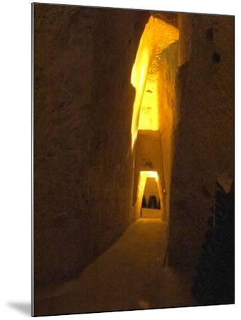 Wine Cellar, Old Chalk Quarry, Champagne Ruinart, Reims, Marne, Ardennes, France-Per Karlsson-Mounted Photographic Print