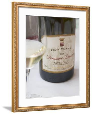 Cuvee Vignola, Domaine Renucci Corse Calvi, Bernard Renucci, France-Per Karlsson-Framed Photographic Print