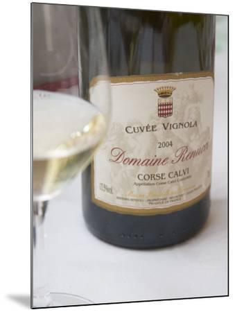 Cuvee Vignola, Domaine Renucci Corse Calvi, Bernard Renucci, France-Per Karlsson-Mounted Photographic Print