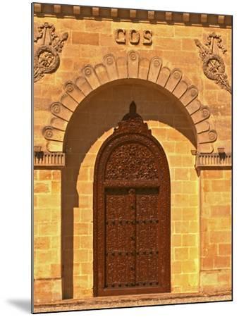 Entrance to Winery at Cos d'Estournel, Oriental Style, Saint St. Estephe, Medoc, Bordeaux, France-Per Karlsson-Mounted Photographic Print