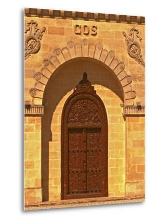 Entrance to Winery at Cos d'Estournel, Oriental Style, Saint St. Estephe, Medoc, Bordeaux, France-Per Karlsson-Metal Print