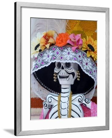 Skeleton on Day of the Dead Festival, San Miguel De Allende, Mexico-Nancy Rotenberg-Framed Photographic Print