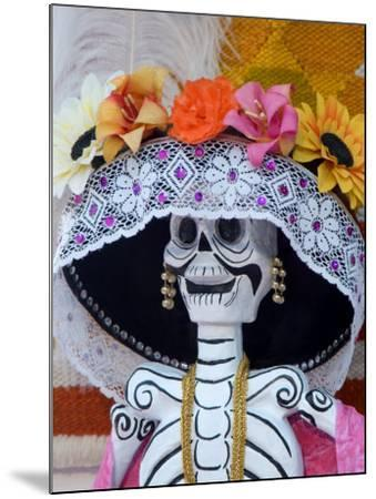 Skeleton on Day of the Dead Festival, San Miguel De Allende, Mexico-Nancy Rotenberg-Mounted Photographic Print
