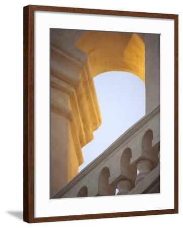 Mission San Xavier Del Bac, Tucson, Arizona, USA-John & Lisa Merrill-Framed Photographic Print