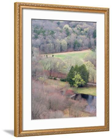 Spring Forest in East Haddam, Connecticut, USA-Jerry & Marcy Monkman-Framed Photographic Print