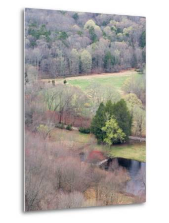Spring Forest in East Haddam, Connecticut, USA-Jerry & Marcy Monkman-Metal Print