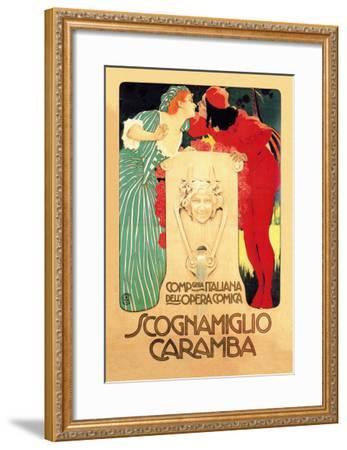 Scognamiglio Caramba--Framed Art Print