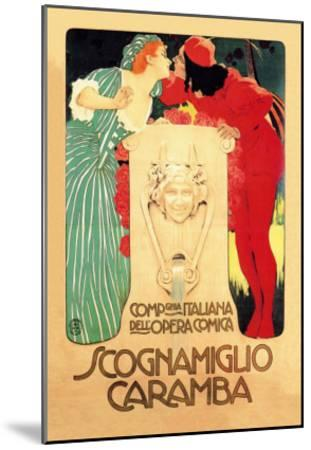 Scognamiglio Caramba--Mounted Art Print