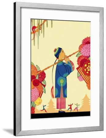 Chinese Fairy Tale-Frank Mcintosh-Framed Art Print