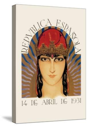 Republica Espanola--Stretched Canvas Print