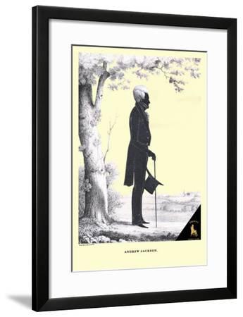 Andrew Jackson-William H^ Brown-Framed Art Print