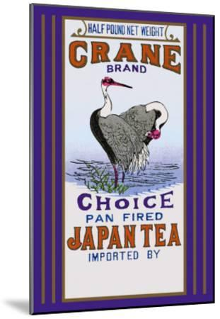 Crane Brand Tea--Mounted Art Print