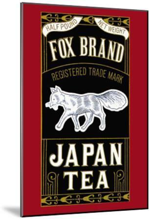 Fox Brand--Mounted Art Print