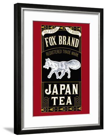 Fox Brand--Framed Art Print