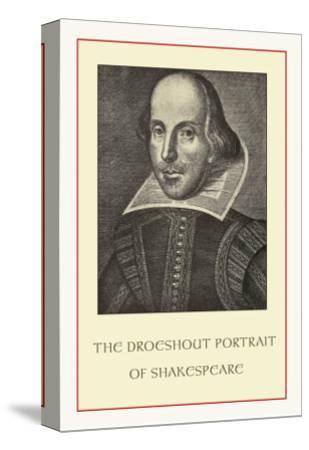 Droeshent Portrait of Shakespeare--Stretched Canvas Print