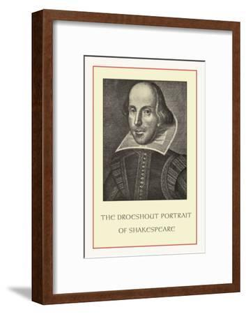 Droeshent Portrait of Shakespeare--Framed Art Print